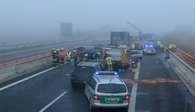 Carambol pe o autostradă în Germania: cel puțin 29 de persoane au fost rănite