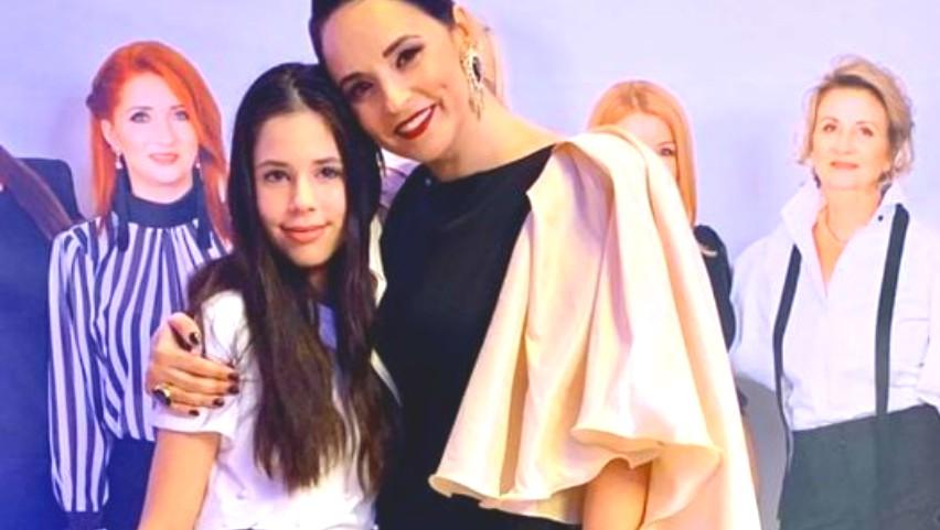 Foto: Andreea Marin, mândră de fiica ei! Vezi cum Violeta își surprinde mama în fiecare zi