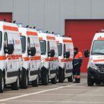Foto: Șoferii de pe ambulanțe ies la protest. Sunt nemulțumiți de salariile pe care le primesc