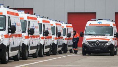 Șoferii de pe ambulanțe ies la protest. Sunt nemulțumiți de salariile pe care le primesc
