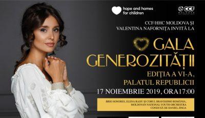 Gala Generozității 2019 – artiști cu renume și copii talentați vor urca în scenă la cel mai spectaculos concert al toamnei!