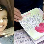 Foto: Mesajele cutremurătoare ale unei fetițe de 11 ani care a murit de foame, din cauza părinților ei fanatici