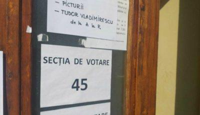 1.899 de moldoveni locuiesc într-un apartament din Galați. La votare s-a prezentat doar unul