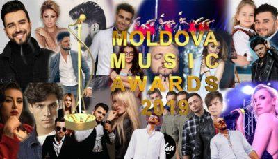 """Vedetele autohtone luptă pentru trofeul """"Moldova Music Awards 2019""""! Votează-ți artistul favorit!"""