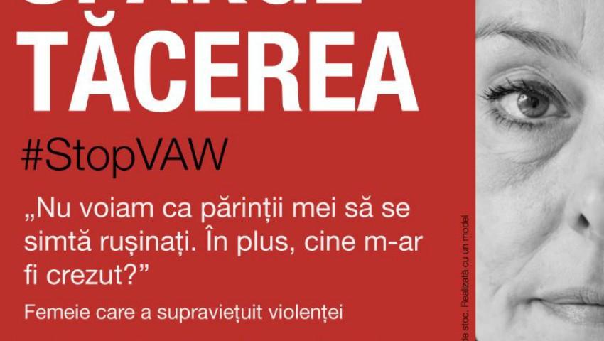 """Foto: """"Sparge Tăcerea"""", campanie OSCE lansată în Moldova în cadrul evenimentului ,,16 Zile de Activism împotriva Violenței în bază de Gen"""""""