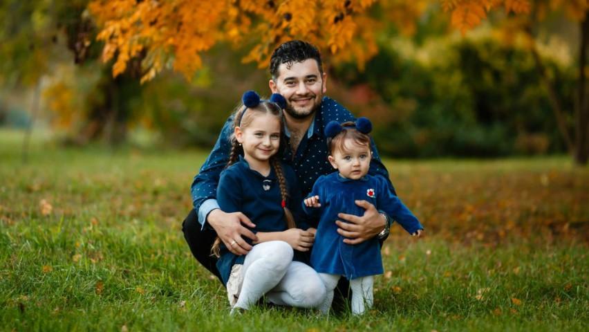 Foto: Valentin Uzun a devenit tată pentru a treia oară!