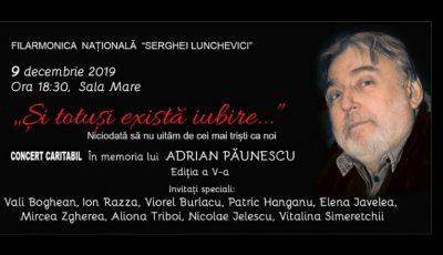 """,,Și totuși există iubire"""" – vino la concertul caritabil de muzică folk, organizat în memoria lui Adrian Păunescu"""