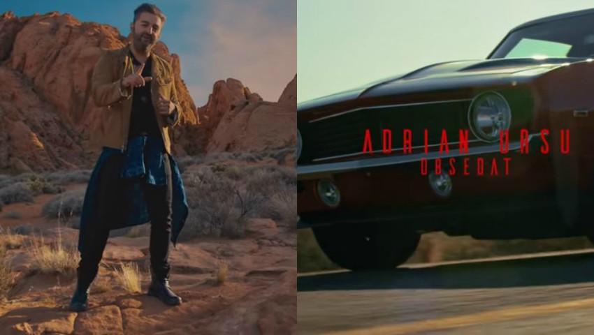 """Foto: ,,Obsedat"""" – videoclip nou de la Adrian Ursu, filmat în Las Vegas!"""