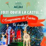"""Foto: """"A fost odată la Castel…"""" – să înceapă aventura! Anul acesta, Moș Crăciun te aduce cu un tren modern chiar la porțile Castelului Mimi!"""