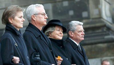 Fiul fostului președinte german, proeminent medic în Berlin, a fost înjunghiat mortal în timpul unei conferințe