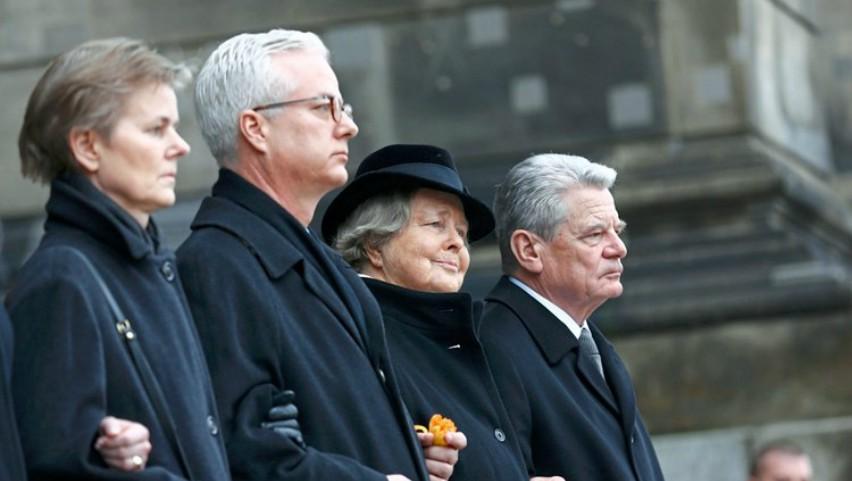 Foto: Fiul fostului președinte german, proeminent medic în Berlin, a fost înjunghiat mortal în timpul unei conferințe