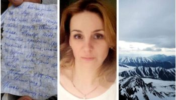 Viața bate filmul! O alpinistă a găsit o scrisoare lăsată în vârf de munte, în urmă cu 30 ani. Ce mesaj avea?