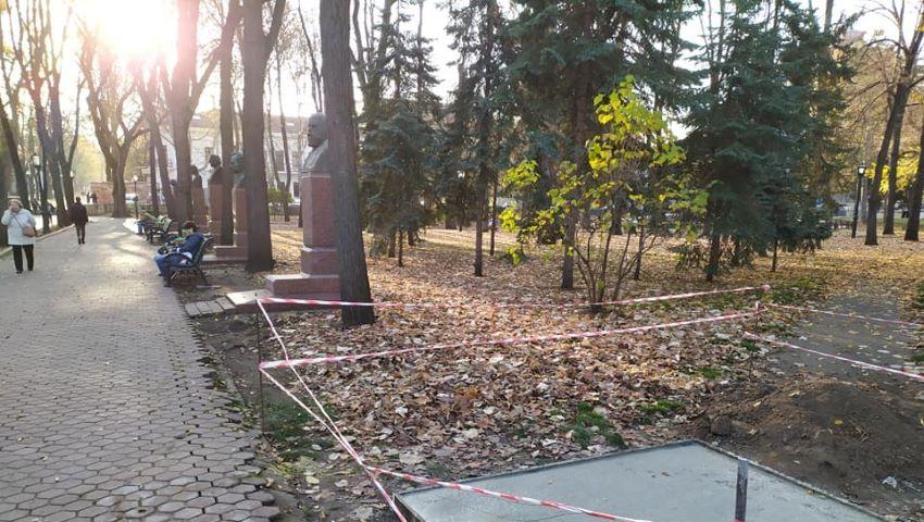 Foto: Pe Aleea Clasicilor, va fi înălțat bustul lui Dumitru Matcovschi