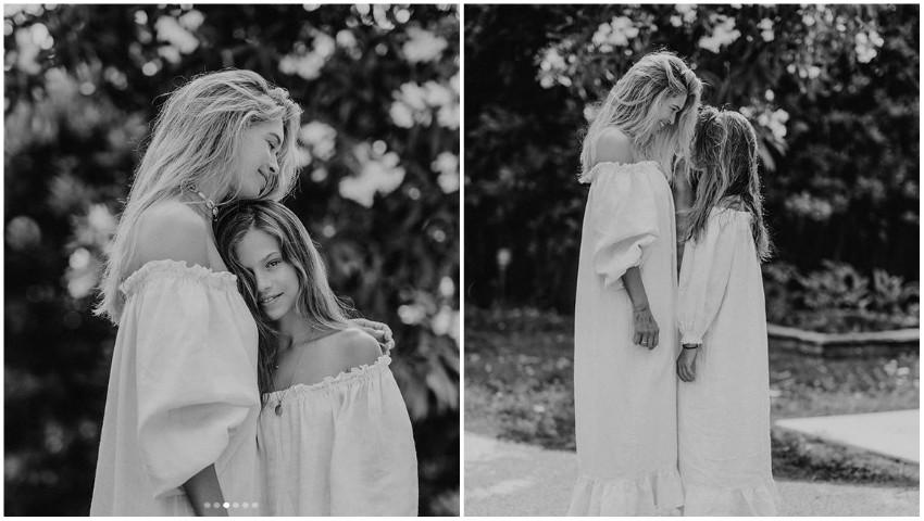 Foto: Vera Brejneva, într-o ședință foto minunată alături de mama sa și fiicele ei