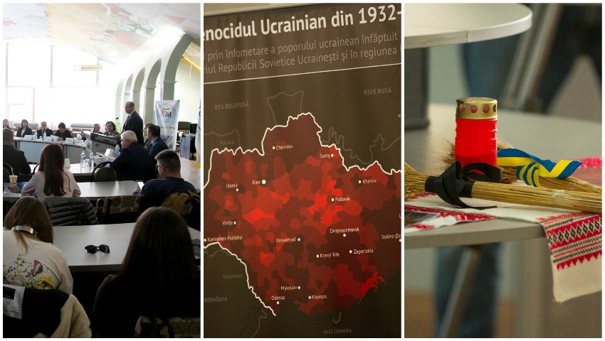 Foto: La Chișinău, au fost comemorate victimele foametei organizate de regimul comunist în Ucraina și Moldova Sovietică