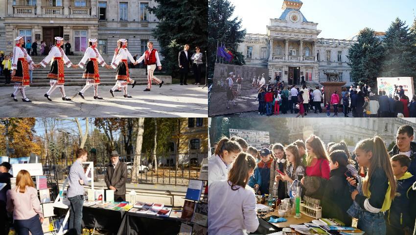 """Foto: """"Ziua Științei"""" s-a transformat într-un campus Alma Mater, la Muzeul Național de Istorie a Moldovei"""