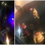 Foto: Explozie într-un bloc din centrul capitalei. Locătarii au ieșit speriați afară