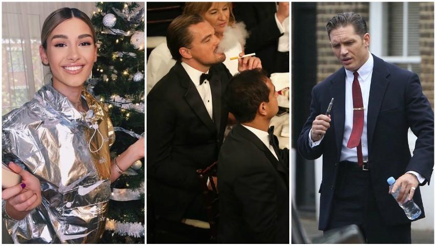 Foto: Vedetele care au ales să consume tutun altfel. Ce dispozitive utilizează