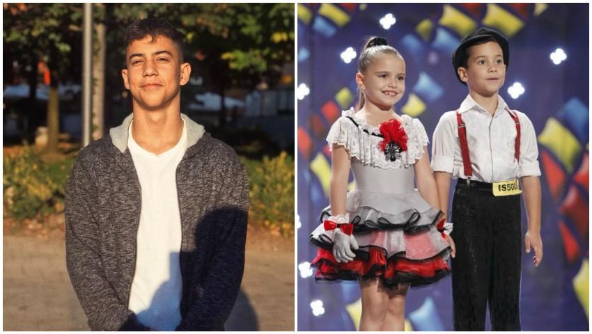 Foto: Dansatorul Mihai Ungureanu a împlinit 15 ani!