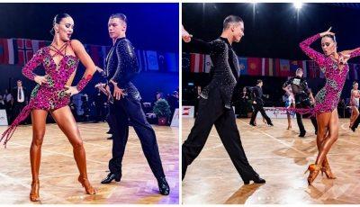 Video! Medalia de aur pentru Moldova, la campionatul de dansuri latino Austrian Open Championship!