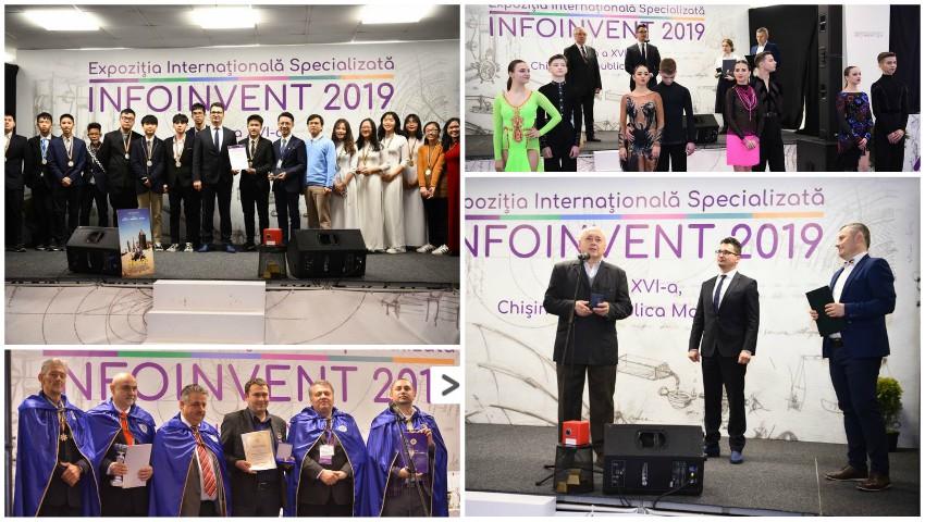 """Foto: Cele mai valoroase invenții și inovații din țara noastră au fost premiate în cadrul expoziției ,,Infoinvent""""!"""
