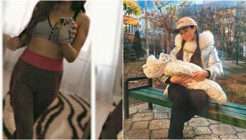 Irina Kovalsky și-a arătat abdomenul la o săptămână după naștere