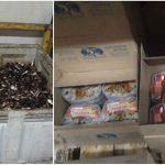 Foto: Pește cu viermi: 11 importatori au fost percheziționați