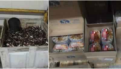 Pește cu viermi: 11 importatori au fost percheziționați