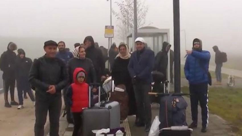Foto: 65 de moldoveni așteaptă să primească azil politic în Olanda. Cum au ajuns în această țară?