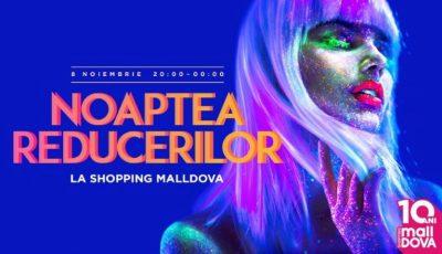 """Noaptea Reducerilor la """"Shopping MallDova"""" îți aduce solduri și oferte speciale: Unele prețuri se vor """"topi"""" cu 70%"""