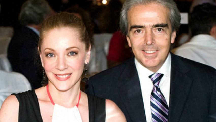 Foto: La cinci luni de la moartea actriței Edith Gonzalez, fostul ei soț are o nouă relație