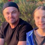 Foto: Foto. Leonardo DiCaprio s-a întâlnit cu activista suedeză Greta Thunberg