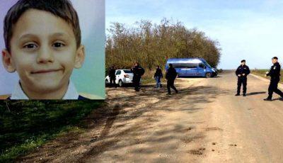 Copilul de 8 ani dat dispărut, a fost găsit după șase zile
