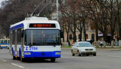 În două săptămâni, vom putea monitoriza în regim online circulaţia troleibuzelor
