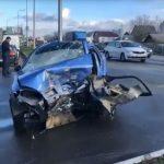 Foto: Un moldovean a provocat un grav accident în Ucraina: o femeie a decedat pe loc