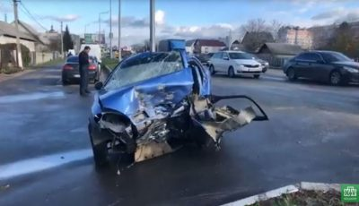 Un moldovean a provocat un grav accident în Ucraina: o femeie a decedat pe loc