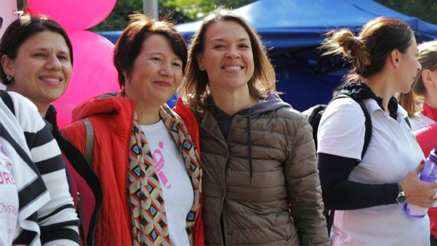 """Foto: Cătălina Bojescu: """"Învinge cancerul prin a te iubi, prin a-ți fi cel mai bun prieten"""""""
