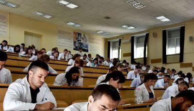 USMF: Unii studenți de la medicină vor fi testaţi antidrog la admiterea la studii, dar şi la fiecare sesiune de examene