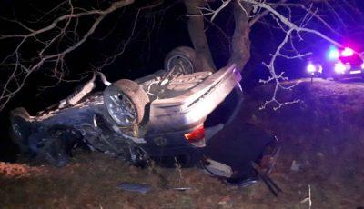 Doi oameni au murit și alți 11 au fost răniți în accidente rutiere, noaptea trecută