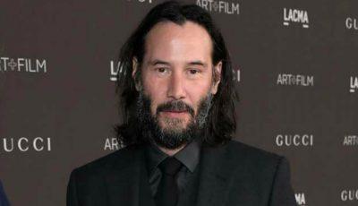 Keanu Reeves a apărut în premieră pe covorul roșu, însoțit de iubita sa!