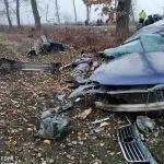 Foto: Accident grav la Ocnița: un bărbat de 41 de ani s-a stins pe loc