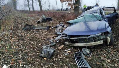 Accident grav la Ocnița: un bărbat de 41 de ani s-a stins pe loc