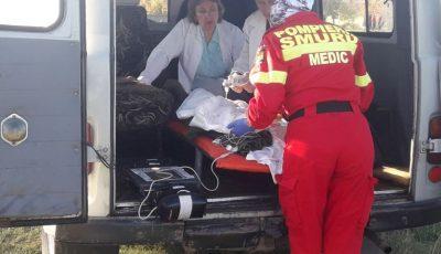 Un copil de 9 luni a suferit arsuri grave, după ce o cratiță cu apă fierbinte a căzut peste el