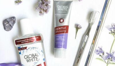 Obține albire și luciu pentru dinții tăi împreună cu produsele Global White!