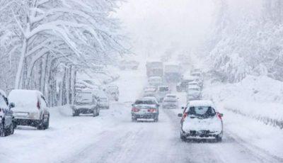 19 județe din România intră sub cod galben de viscol și zăpadă