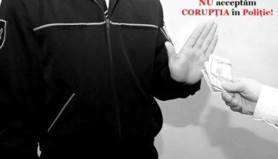 Un polițist moldovean a refuzat o mită de 500 de euro din partea unui șofer