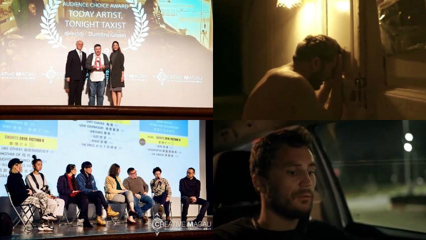 """Foto: Filmul ,,Today artist, tonight taxist"""" în regia lui Dumitru Grosei, a fost premiat în China!"""