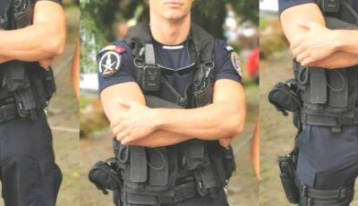 Polițistul care a ajuns erou pe rețelele de socializare. A sărit în apa rece ca gheața și a salvat viața unei tinere