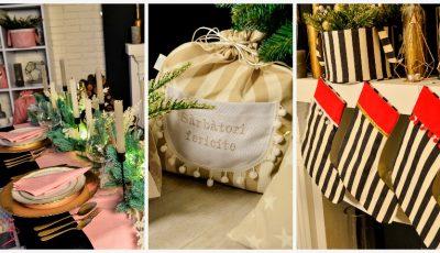 Decorațiuni personalizate de Crăciun pentru masa de sărbătoare și casa ta, create cu dragoste și pasiune!