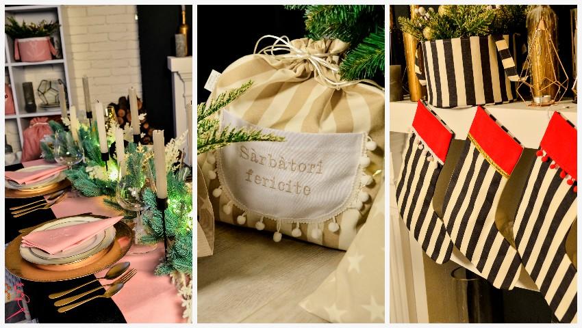 Foto: Decorațiuni personalizate de Crăciun pentru masa de sărbătoare și casa ta, create cu dragoste și pasiune!